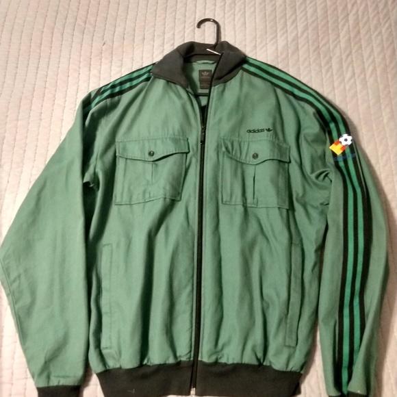 Banco Etapa Porra  adidas Jackets & Coats   Rare Find Adidas Espana 82 Track Jacket Xl    Poshmark